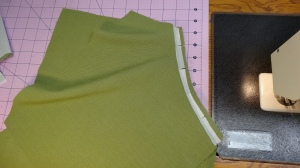 added interfacing to the pocket