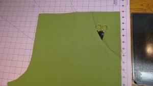 finished pocket/front