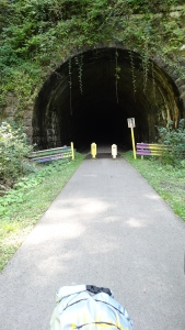 tunnel on bike trail near Emlenton, PA