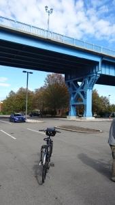 parking area under the 31st street bridge