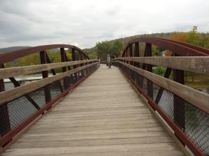 bridge going into Ohiopyle, PA