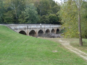 Monocacy Aqueduct on the C & O Canal Path