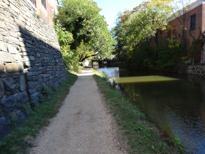 C & O Canal in the Georgetown area