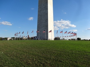 base of the Washington Monument, Washington, DC