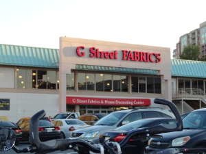 G Street Fabrics, Rockville, MD