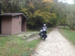 Roundbottom camping area on the GAP Trail