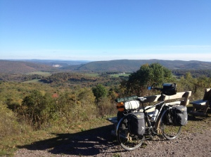 Eastern Continental Divide on the GAP Trail