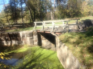 aqueduct along the C & O Canal Path