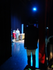 view from back stage